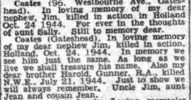Evening  Chronicle 24-10-1945