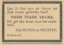 Friesch Dagblad 23-5-1940