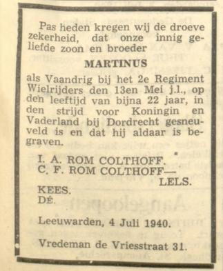 Leeuwarder Courant 4-7-1940