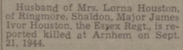 Exeter Plymouth Gazette 29-6-1945
