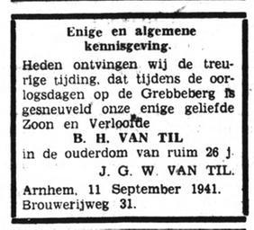 Het Volk Dagblad voor de Arbeiderspartij 13-9-1941