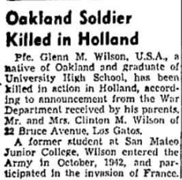 Oakland Tribune 26-10-1944