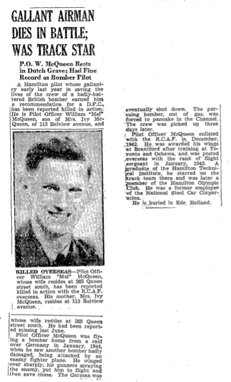 Hamilton spectator 14-2-1945
