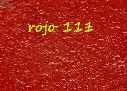 hormigon impreso rojo 111