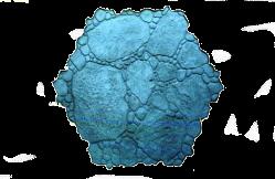 molde piedra de río