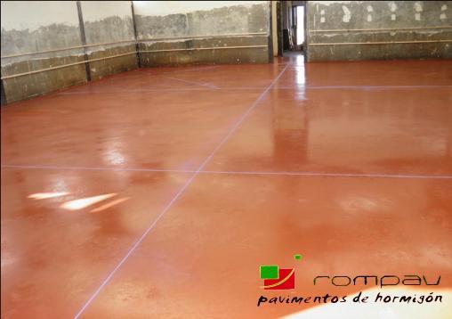 Hormig n pulido y pavimentos fratasados precios m2 hormig n impreso y pavimento pulido rompav - Suelo de cemento pulido precio ...