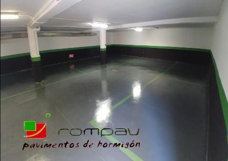 pavimentos de hormigón pulido Madrid
