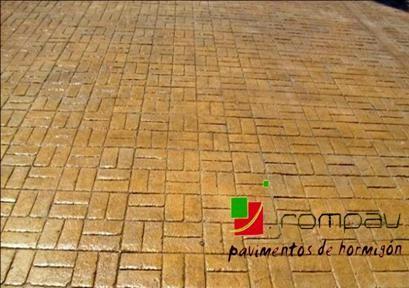foto hormigon impreso cesteria guadalajara