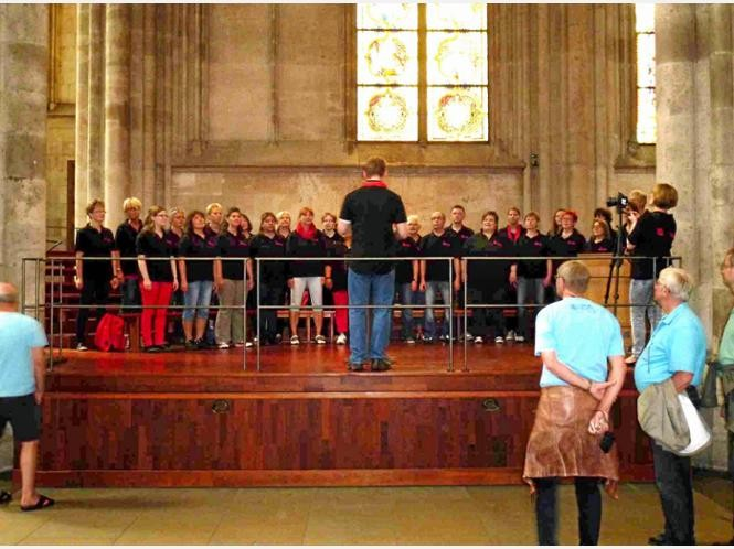 The Albert Singers live im Kölner Dom