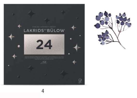 4. Adventskalender von Lakrids by Bülow - 39 €
