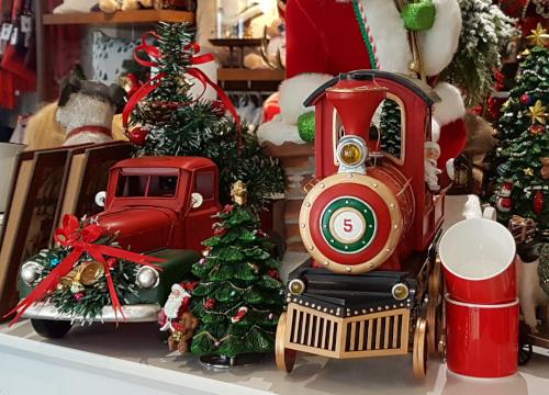 Weihnachtsvorfreude bei IDEE E COMPLEMENTI, Concept Store München-Solln