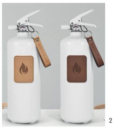 2. Stylische Feuerlöscher von Nordic Flame  -  ab 79,95 €