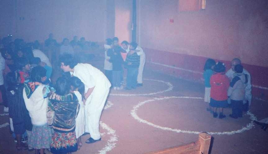 partizipatives Theater mit indigenen Kindern/