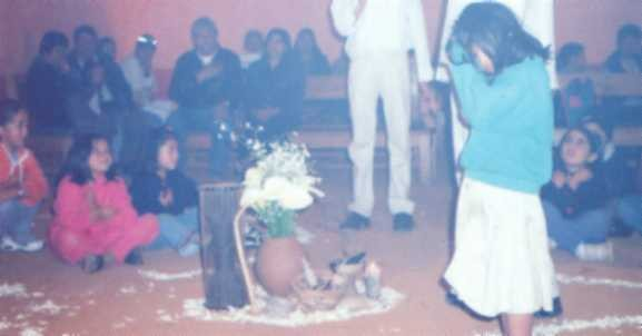 participative Theater with indigenous children...