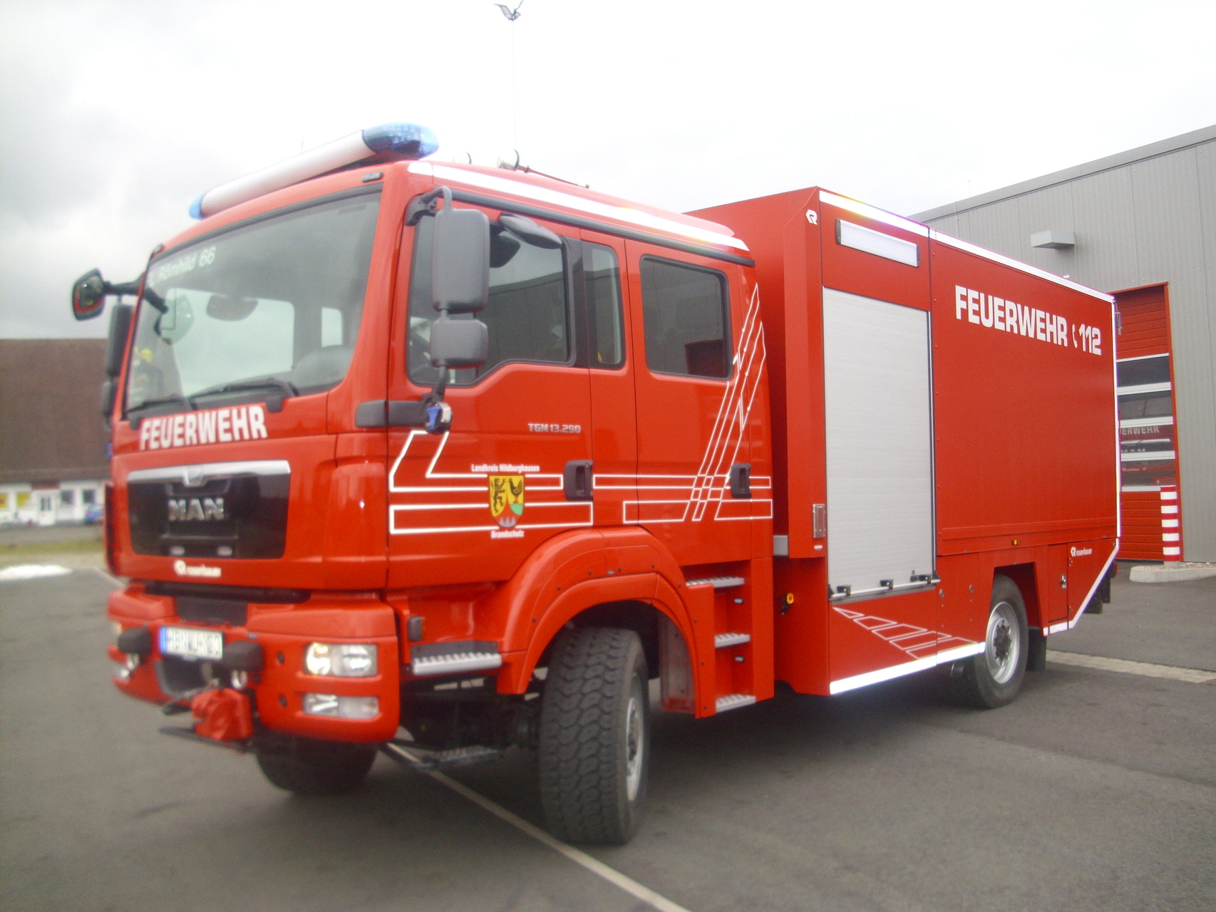Gerätewagen- Logistik GW- L 2 - Freiwillige Feuerwehr Römhild