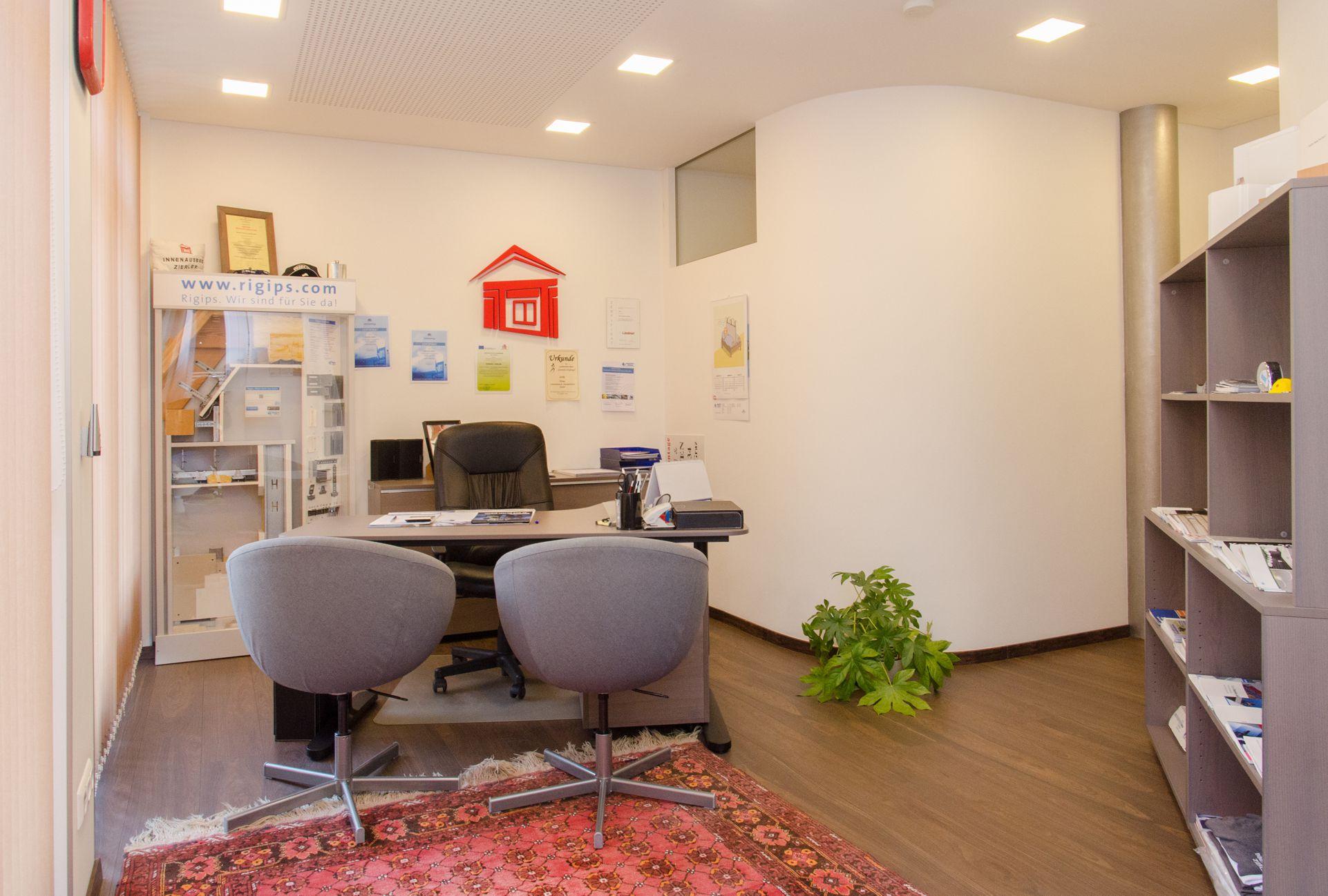 Innenausbau Zierler KG Büro in Graz.
