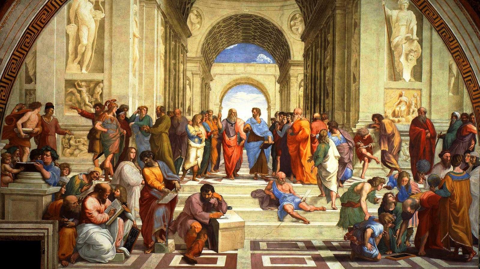 Image result for péripatéticiens du lycée d'aristote