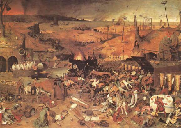 Brueghel - La peste noire