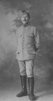 Sylvain C., Maréchal des Logis, 10ème Dragons de Cavalerie en 1918