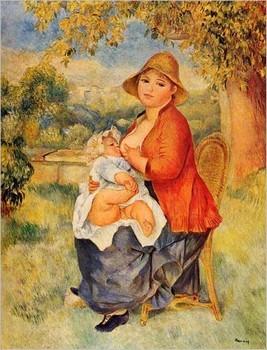 Renoir : Maternité
