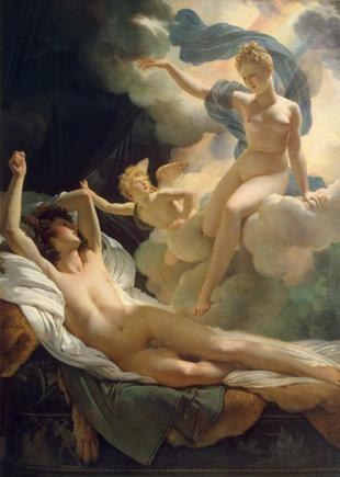 Morphée et Iris, Pierre-Narcisse Guérin - Musée de l'Ermitage, Saint-Pétersbourg