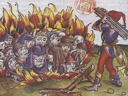 Persécution des juifs au XVème siècle - Bibliothèque Mazarine