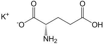 (L) - Glutamate de potassium