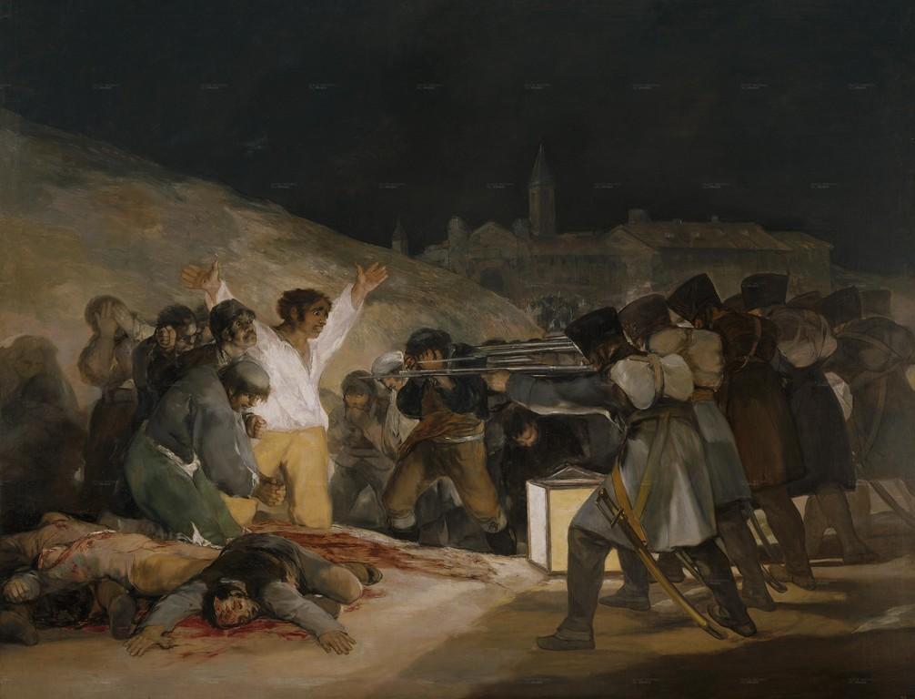 Tres de Mayo, Goya