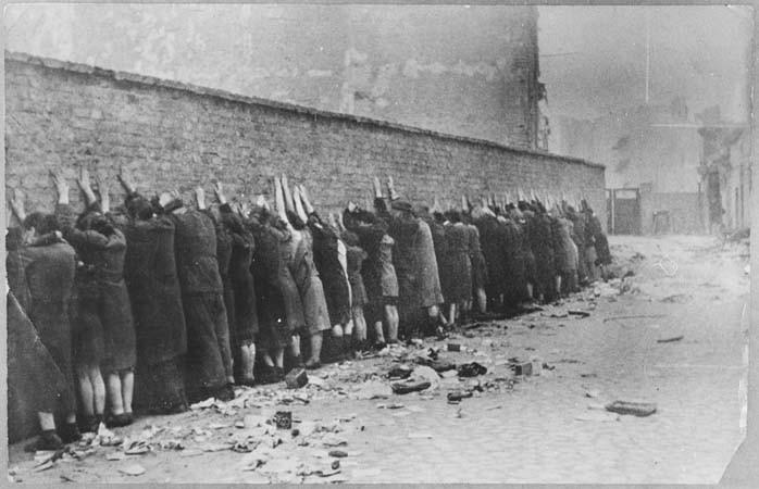 Ghetto, Varsovie, 1943