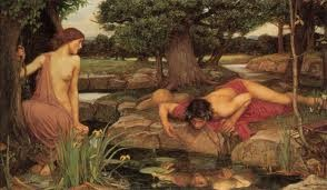Narcisse et Echo, John William Waterhouse