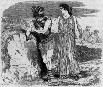 Idothée et Ménélas