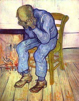 Au seuil de l'éternité, Vincent van Gogh (1890)