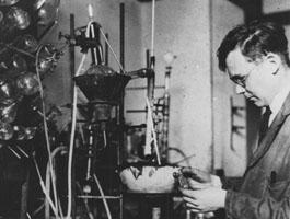 Carothers au laboratoire