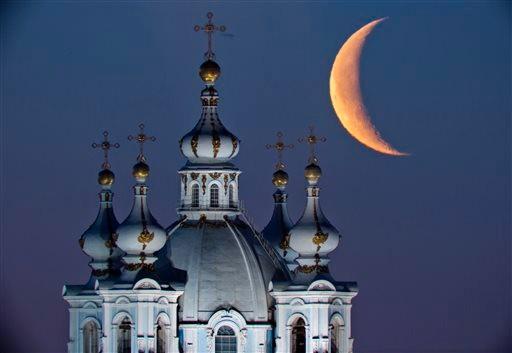 Cathédrale de la Résurrection (Smolny) à St Pétersbourg