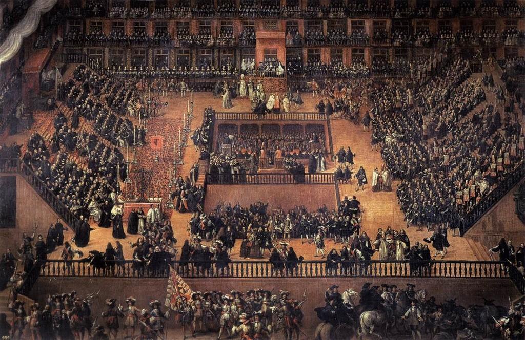 Inquisition : autodafé Plaza Mayor