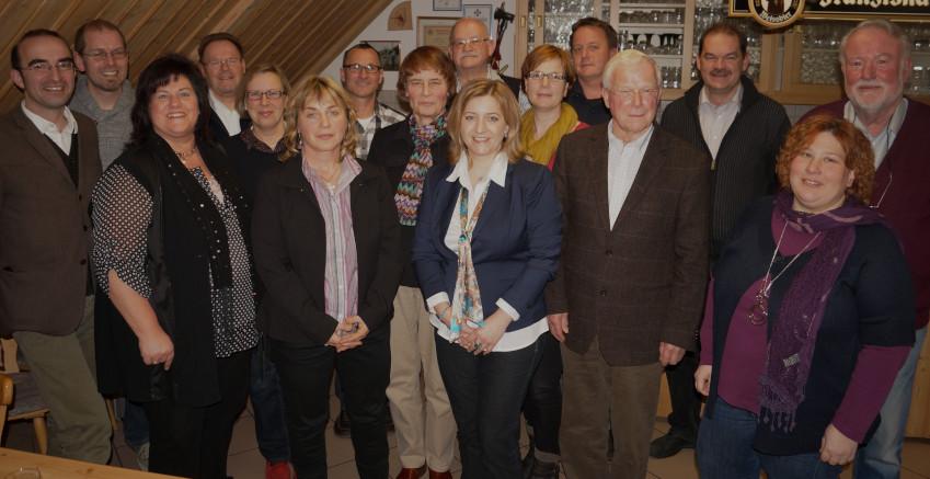 Gruppenfoto der Kandidaten     (Foto: Heike John, Friedberger Allgemeine)