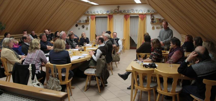 Die Nominierungsversammlung war gut besucht