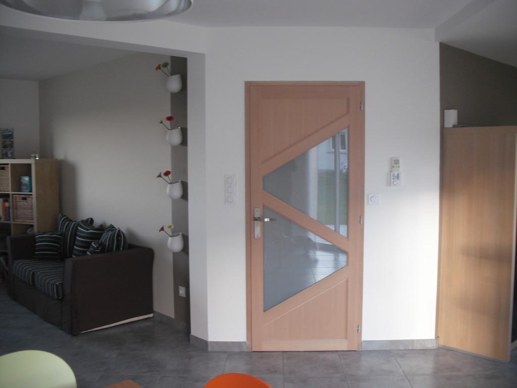 Un exemple de porte Intérieure contemporaine