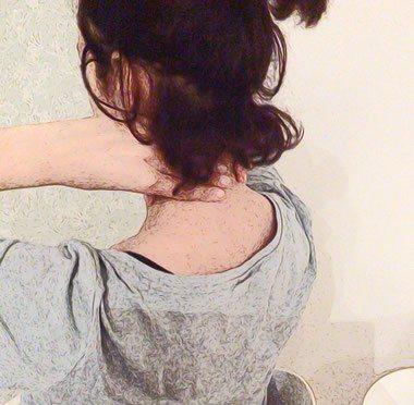 massage van je nek en hoofd