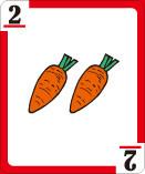 2=ニンジン