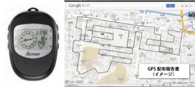 GPSとGoogleMapsを利用した完了報告書