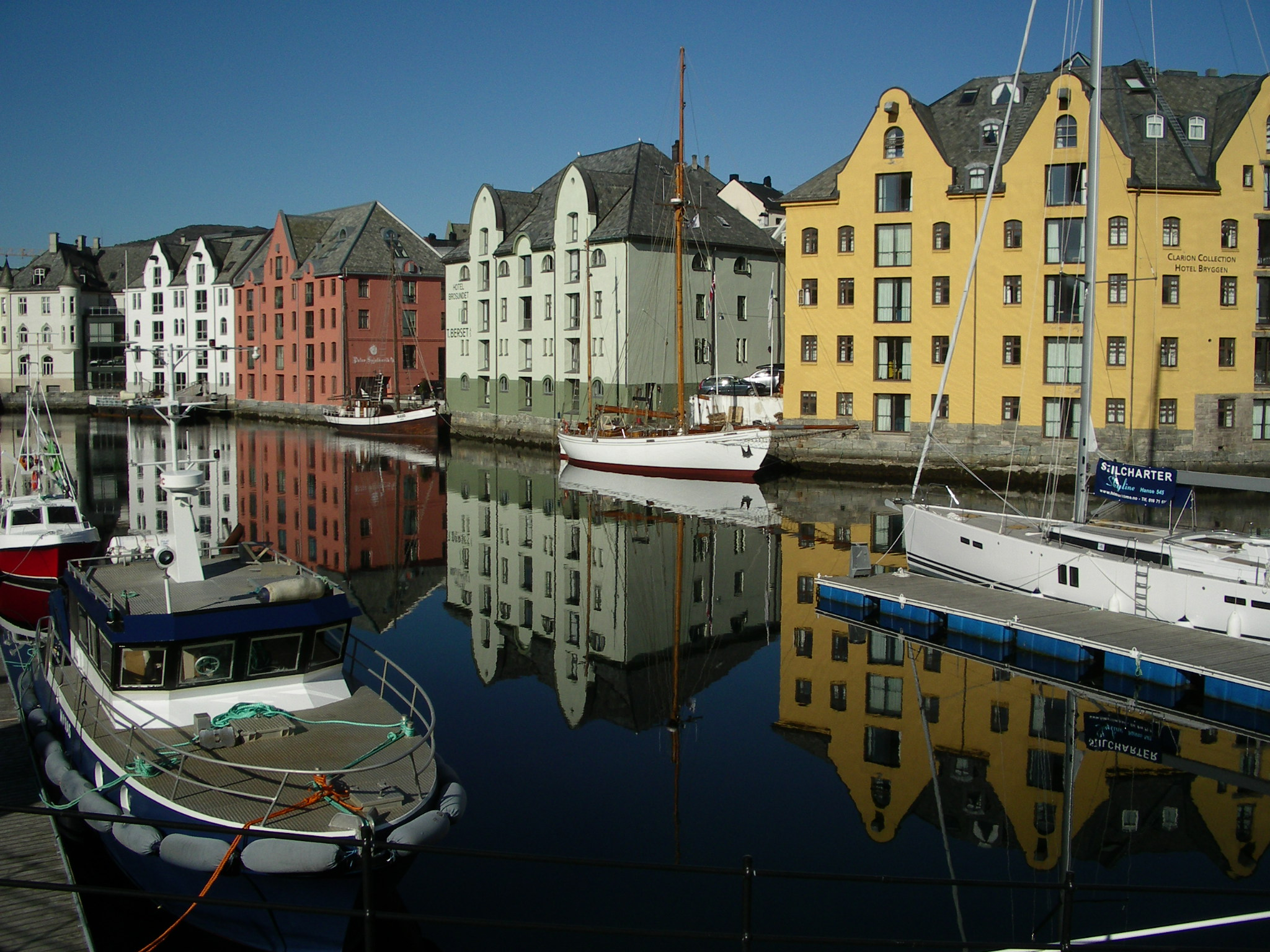 Alesund Norwegen