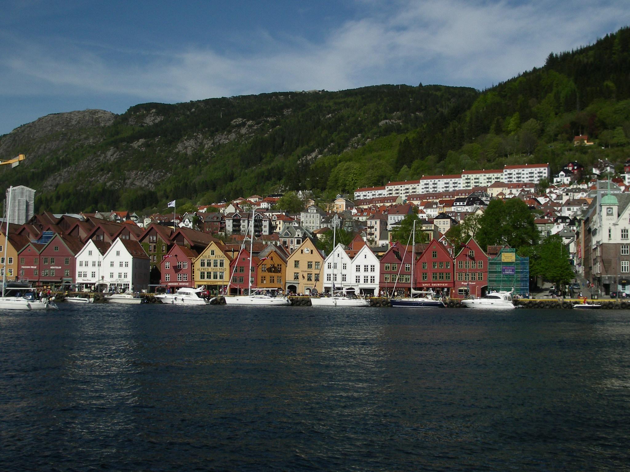 Bergen zweitgrößte Stadt Norwegens