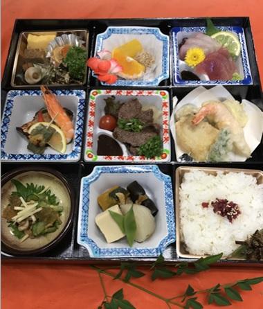ふか田、人気の会席膳 税込4,000円~