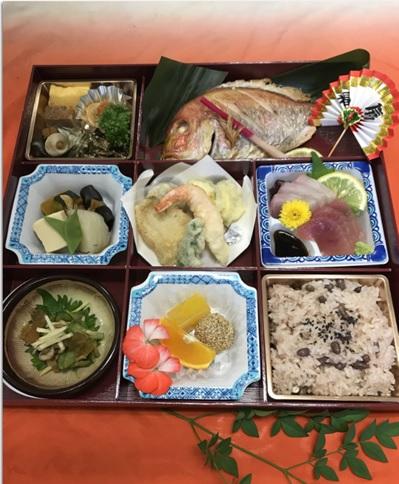 ふか田、美味しいとご好評の 祝 会席膳 税込5,000円から