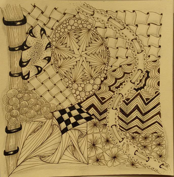Pia Ebel, Meditatives Zeichnen (ZIA)
