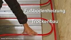 WEM Fußbodenheizung selbst verlegen im Trockenbau in Altenstadt und Büdingen