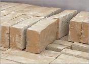 Lehmsteine, Leichtlehmsteine – Format NF und DF – Rohdichte 700, 800, 1200 und 1900 kg/m³