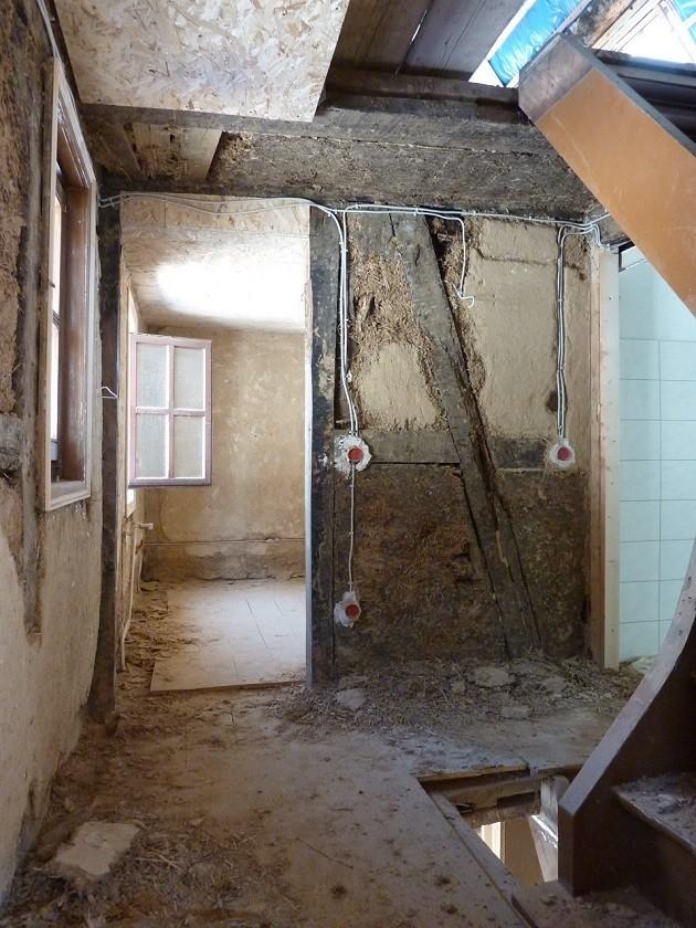 Fachwerkhaus Sanierung - Lehmputz