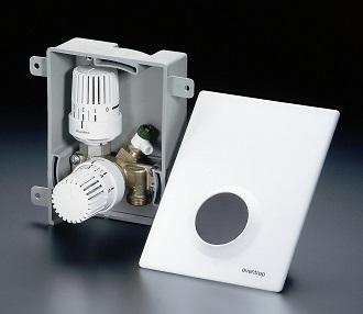 Multibox K-RTL, Thermostatventil + Rücklauf-Temperaturbegrenzer